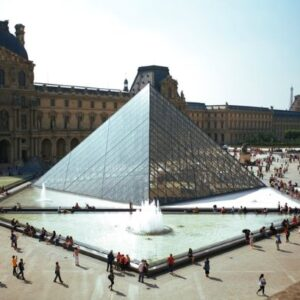 Picture of Louvre in France